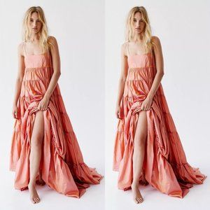 Free People Enough With The Tiers Maxi Dress